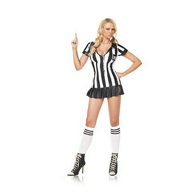 Game Official Referee 3 Piece Sexy Adult Costume Leg Avenue 83067 (Leg Avenue Referee Costume)