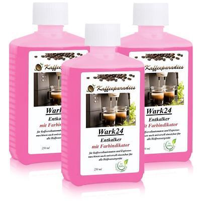 Flüssig Entkalker 250 ml für Kaffeevollautomat Saeco,Bosch,Siemens (3er Pack)
