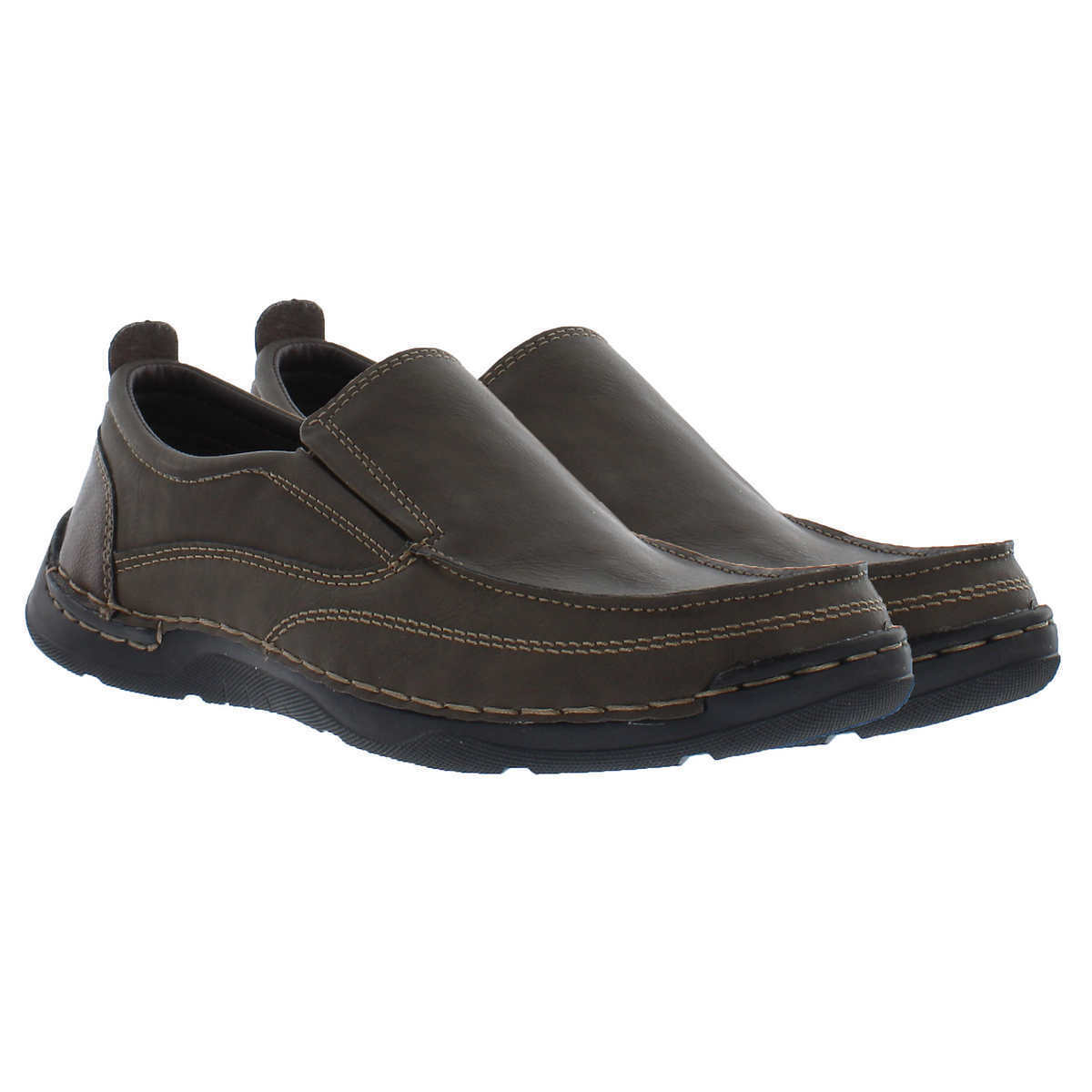 Izod Thomas Men's Slip On Shoe Memory Foam Flexible LightWeight Loafer