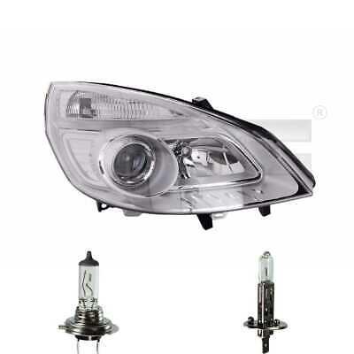 Scheinwerfer links H1/H7 für Renault Scénic II JM0/1_ Grand inkl. Osram Lampen