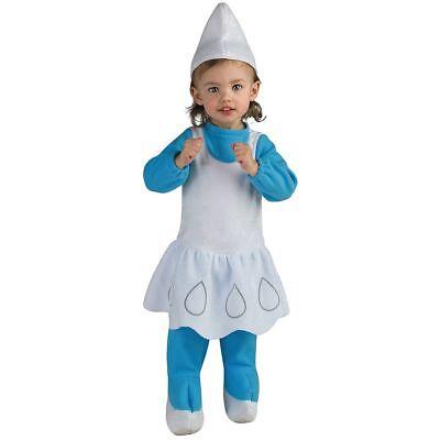 The Smurfs Smurfette Toddler Costume (1-2) - Smurfette Costume
