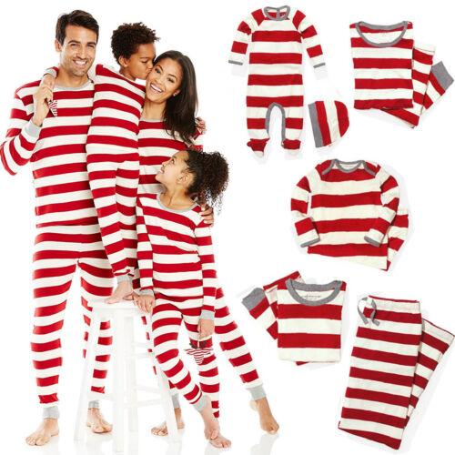 Family Matching Christmas Kid Pajamas PJs Sets Xmas Sleepwea