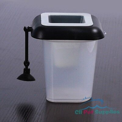 4-in-1 Floating Worm Feeder Aquarium live/ Frozen/ Dry Fish Food Defrosting Cup