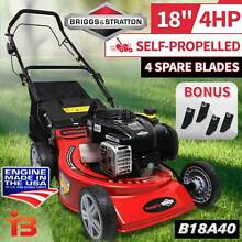 "18"" Self Propelled 140cc 4Stroke Lawn Mower with Height Adjusting Fairfield East Fairfield Area Preview"