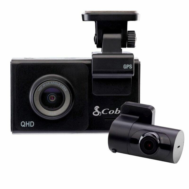 Cobra Smart Dash & Rear Cam SC 200D QHD 1600P Voice WiFi GPS 16GB Shared Alerts