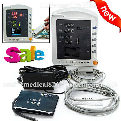 New Vital Signs Monitor Icu Ccu Patient Monitor 3 Parameters Nibpspo2pr