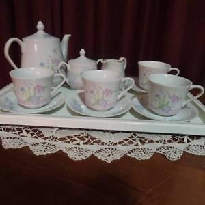 Fine Porcelain Tea Service Kootingal Tamworth City Preview