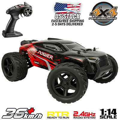 1:14 Scale 4WD RC Car Remote Control Monster Truck High Speed Off Road RTR 4wd Off Road Truck