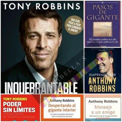 Anthony Robbins 6 Libros De Desarrollo Personal Y Motivacion Articulos Digitales