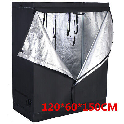 120*60*150CM Indoor Grow Tent Portable Hydroponic Non-Toxic Plant Growing Room