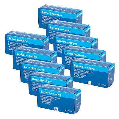 10 Boxes Dental Barrier Envelopes 34cm 2 Digital X-ray Scanx Phosphor Plates