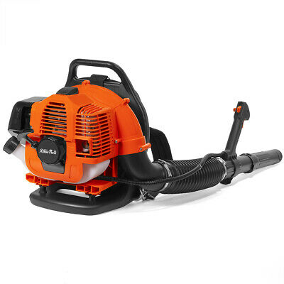 31CC 2-Cycle Gas Powered Backpack Leaf Blower Grass Yard Pad