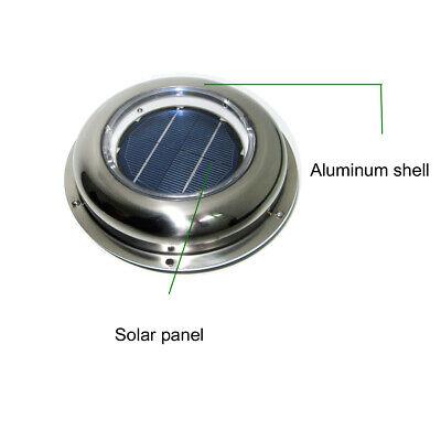 Boat Exhaust Fan Rvcaravan Solar Air Vent Fan Ventilator W Battery Switch Combo