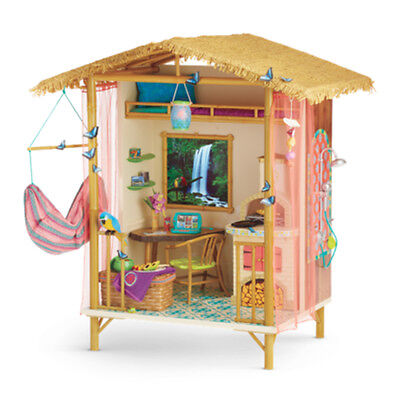 "American Girl LE LEA RAINFOREST HOUSE for 18"" Dolls Lea's Food Furniture NEW"
