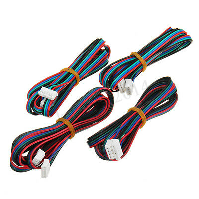 4pcs 1m 4pin Cable Wire For Mks Series 3d Printer Stepper Motor Nema 17