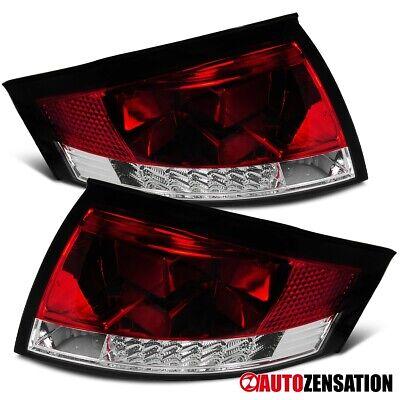 For 1999-2006 Audi TT Quattro Red/Clear LED Tail Brake Lights Lamp