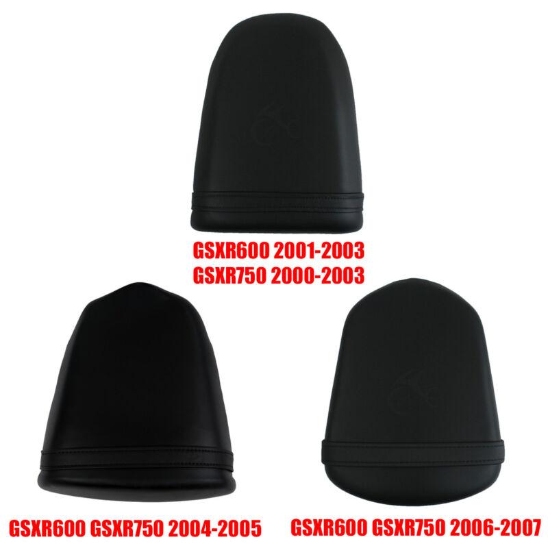 TCMT Black Rear Passenger Seat Fits For Suzuki GXS-R 750 GSXR 600 2001-2003 GSXR1000 01-02