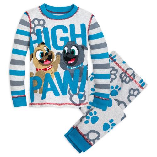 NWT Disney Store Bingo Rolly PJ Pal Pajama Set Boys Puppy Dog Pals Many sizes