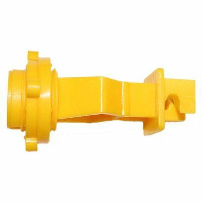 Electric Fence 1 T-post Insulator Yellow 25 Pack