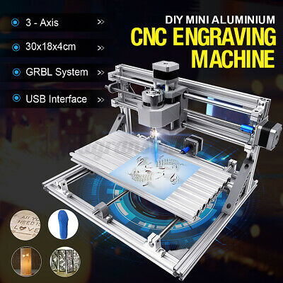 Cnc 3018 3 Axis Grbl Engraving Laser Printer Machine Wood Usb Engrave Machine Us