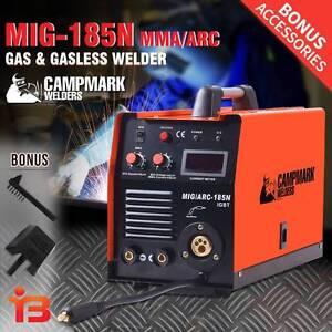 Campmark 185amp MIG/MMA/ARC Gas & Gasless Welder for Sale Fairfield Fairfield Area Preview