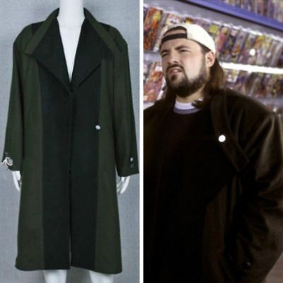 Jay and Silent Bob Strike Back Cosplay Costume Trench Coat Outfit Long Jacket HH](Silent Bob Costume)