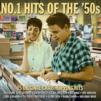 No 1 Hits Of The 50S Various Artists One Day Music Best Of 75 Songs New 3 Cd