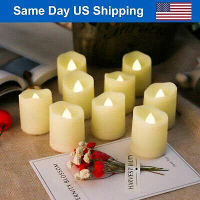Votive LED Tea Light Flameless Unscented Fake Candle Tealight Home Wedding Décor - Fake Candle