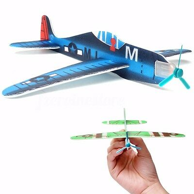 10X Flying Glider Planes Kid Boy Girl Toy Gift Birthday Game Party Bag Filler - Flying Gliders