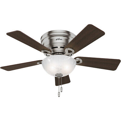 Hunter Fan Company 52139 Haskell Indoor Ceiling Fan Brushed