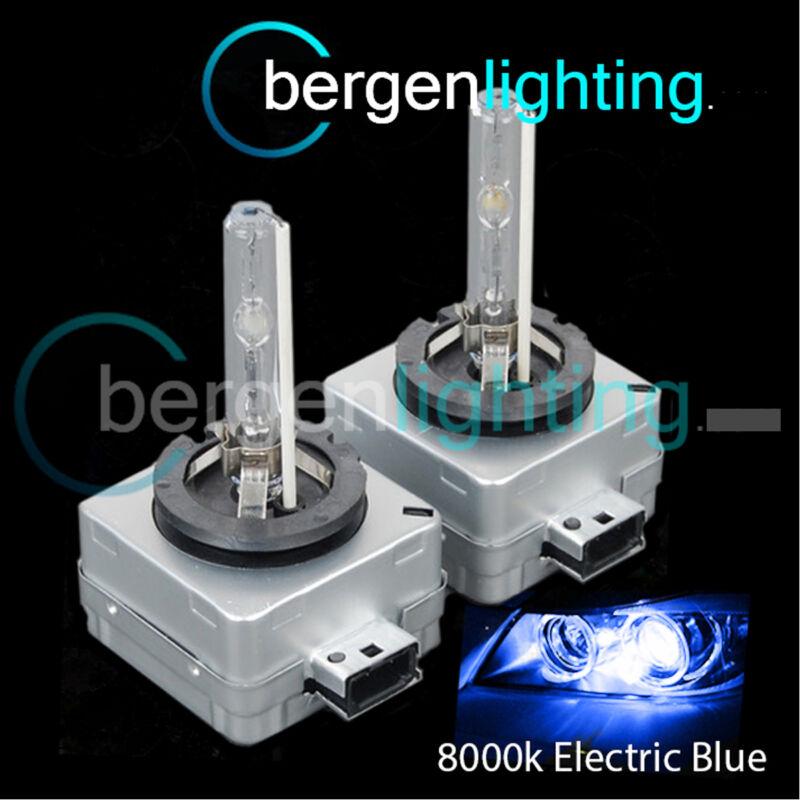 D3S ELECTRIC BLUE XENON LIGHT BULBS MAIN HIGH BEAM 8000K 35W FACTORY OEM HID 3