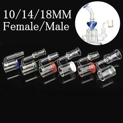 Malefemale 14mm18mm Quartz Bowl Rette Nail Water Glass Stopper Pipe Straw