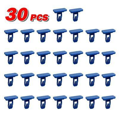 30pcs Front Bumper Mudguard Plastic Retainer Rivet for 2009-2013 Toyota Corolla