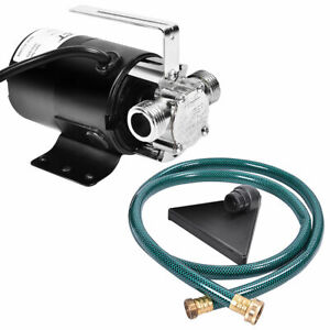 Shop For Cheap Water Pump Powered Electric Outdoor Fuel Transfer Suction Pumps Liquid Transfer Non-corrosive Liquids Blue Red Reliable Performance Automobiles & Motorcycles