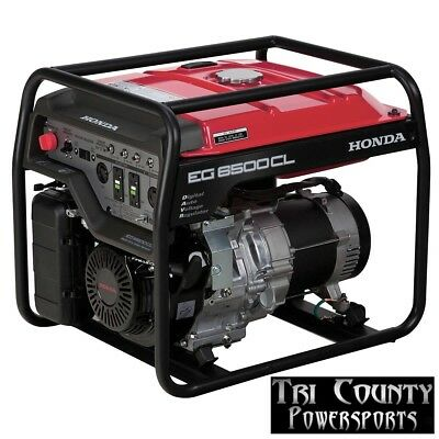 Honda Generator Eg6500 6500 Watts 120240 Volt Operation Lk