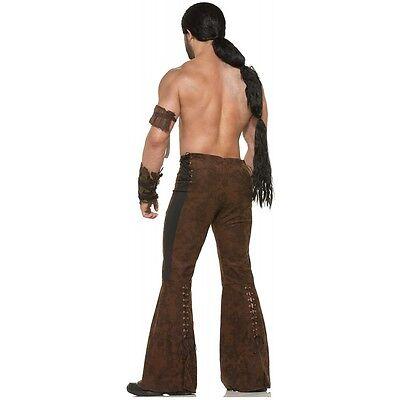 Khal Drogo Wig Adult Game of Thrones Dothraki Warrior Costume Fancy Dress