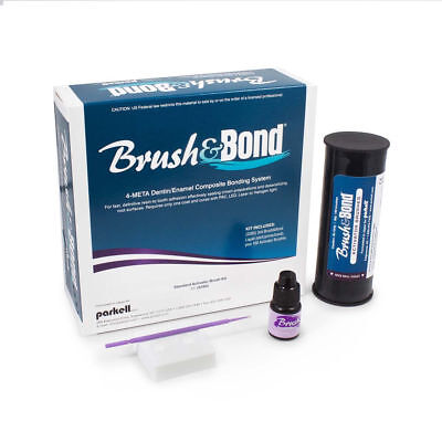 Parkell Brushbond Dentinenamel Composite Bonding System W Standard Brushes
