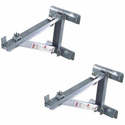 Werner Ac10-14-02 Short Body Aluminum Ladder Jacks Set Of 2 - 1 Pair-up To 14