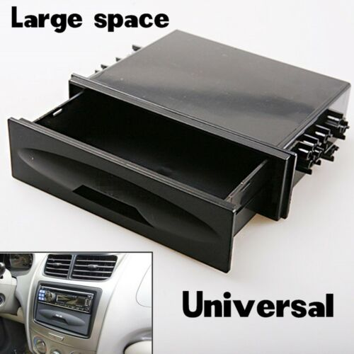 For Universal Deluxe Car Auto Din Radio Installation Pocket  Kit Storage Box