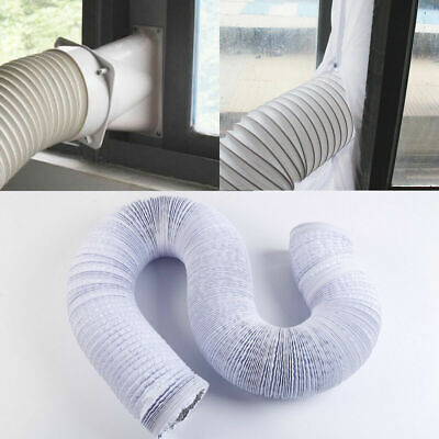 3M 5Inch Exhaust Hose PVC Flexible Ducting Air Conditioner Exhaust Hose ()