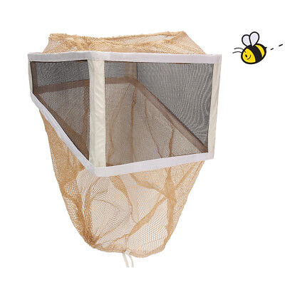 New Beekeeping Beekeeper Head Face Protection Veil Hat Mosquito Net