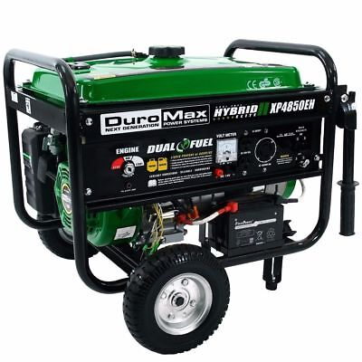 DuroMax XP4850EH 4850 watt Dual Fuel Hybrid generator ElectricStart Free eBook
