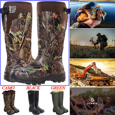 HISEA Apollo Men's Hunting Boots Waterproof & Insulated Rain Snow Working Boots