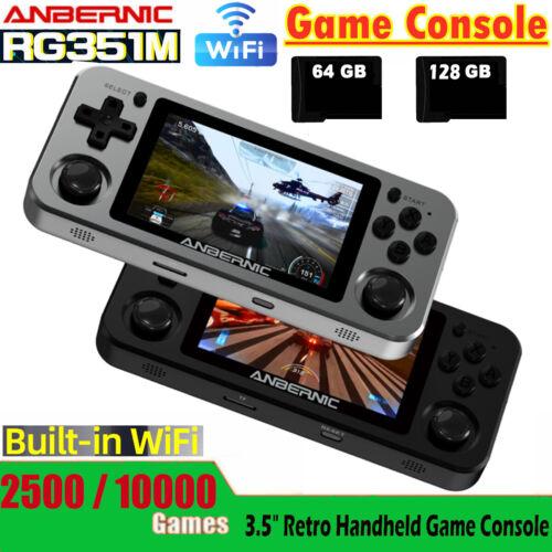 Anbernic RG351M Portable Handheld Retro Game Consoles 64GB/128GB Built in Wifi