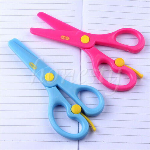 Safety Plastic Scissors For Children Kids School Art Drawing