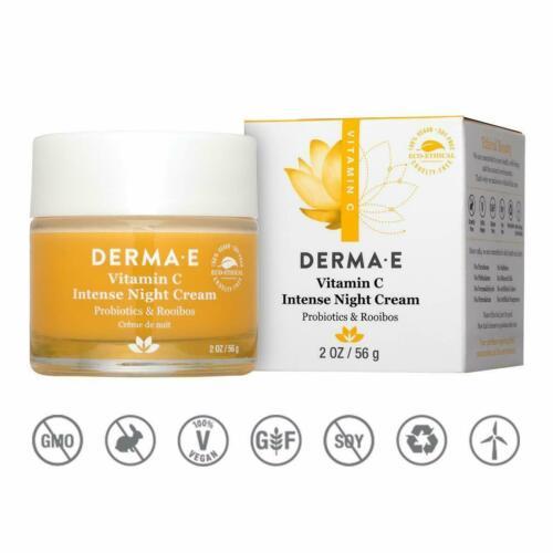 DERMA E - Vitamin C Intense Night Cream - 2oz Cream LOWEST PRICE ON WEB!!!