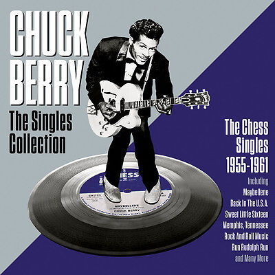 Chuck Berry The Singles Collection 1955 61 Best Of 48 Rockin Songs New 2 Cd