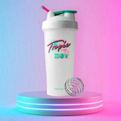 Blender Bottle Singular Edition 28 oz Shaker with Loop Top - Tropic Like It's Hot