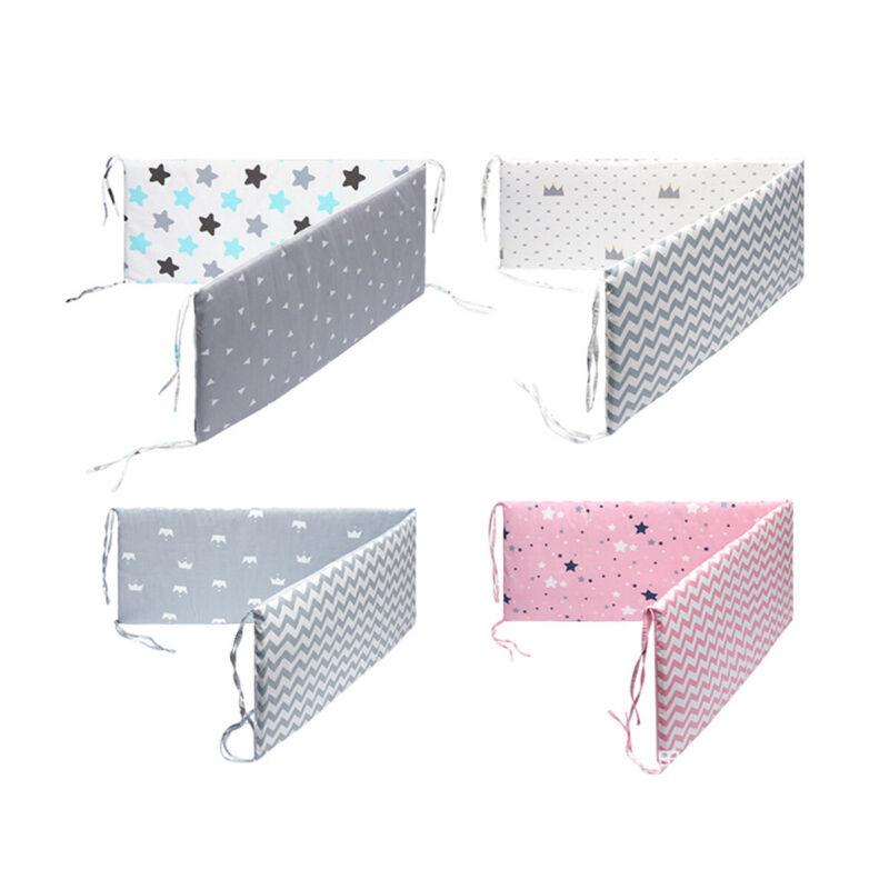 Newborn Crib Baby Bed Bupmer Protector Pad Pillow Nursery Cushion Breathable 1PC