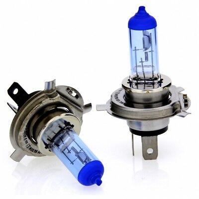 2 x H4 Laser White Ultra Halogenlampe 4000K Xenon Effekt 12V 60/55W P43t STVZO gebraucht kaufen  Henstedt-Ulzburg